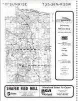 Map Image 008, Chisago County 1982